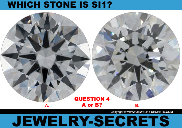 Questions 4 SI1 Clarity or Flawless Diamond?