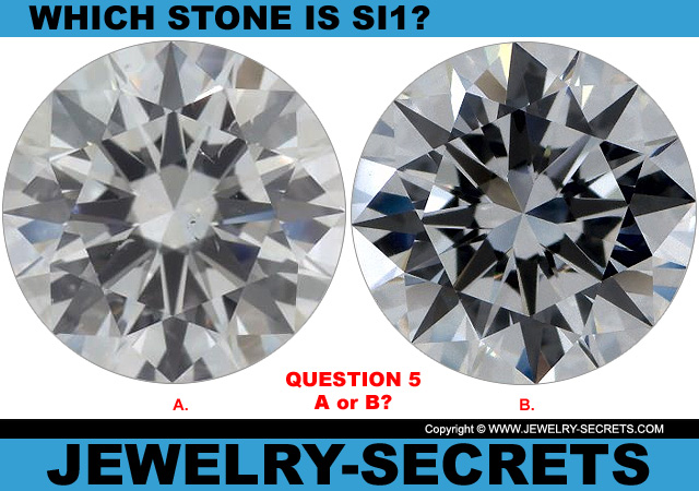 Questions 5 SI1 Clarity or Flawless Diamond?