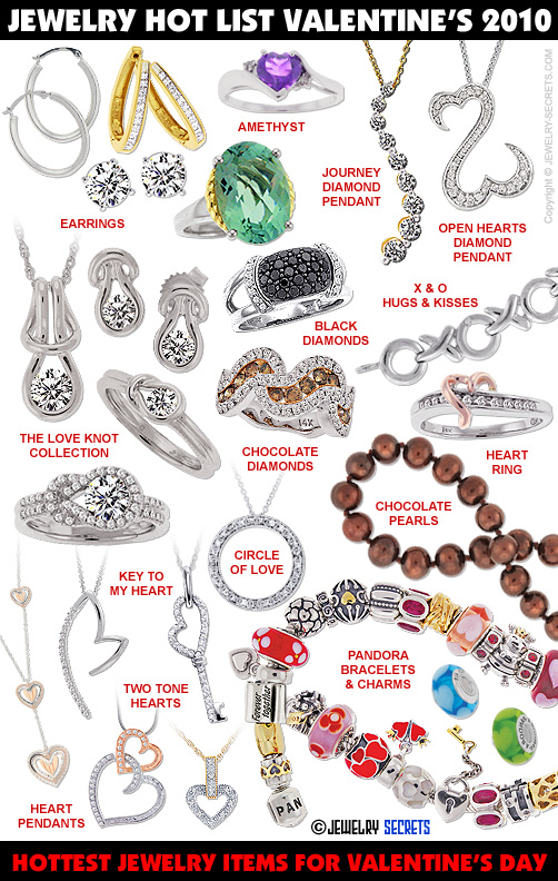 Great Valentine's Day Jewelry Gifts