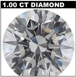 1 Carat Polished Diamond