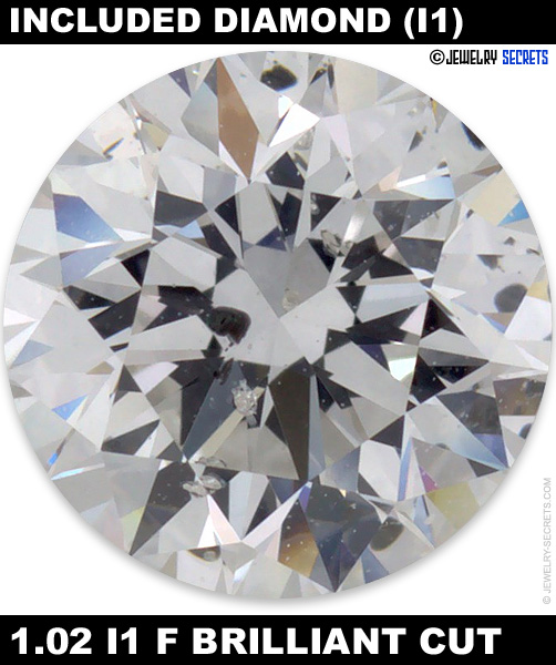 1.02 I1 F Brilliant Cut Diamond