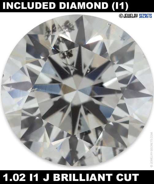 1.02 I1 J Brilliant Cut Diamond