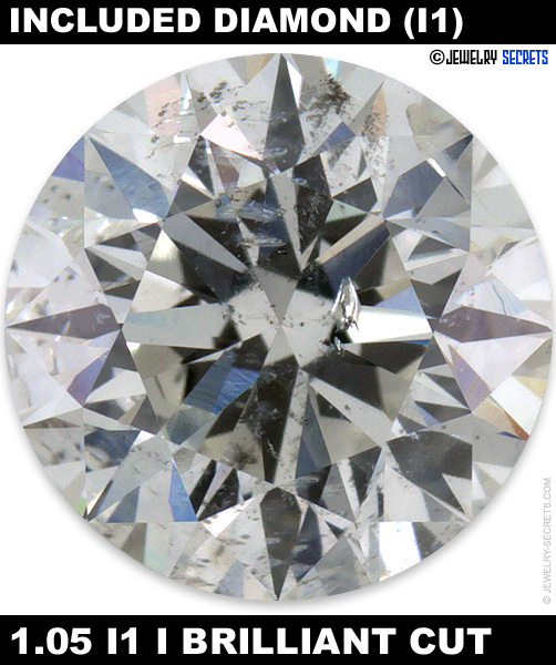 1.05 I1 F Brilliant Cut Diamond