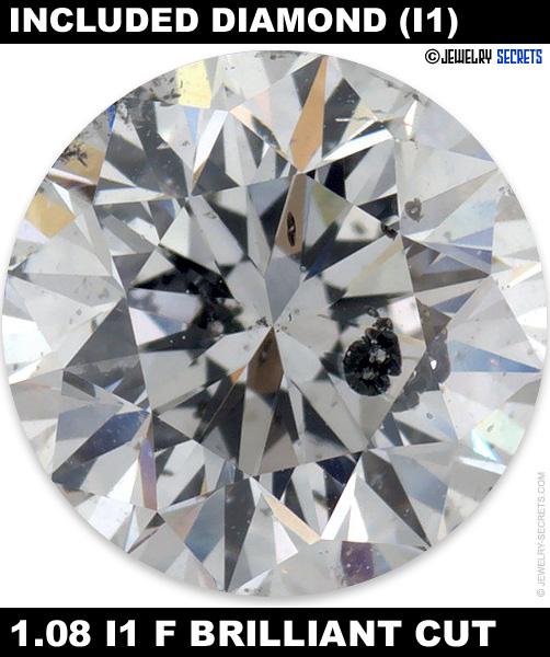 1.08 I1 F Brilliant Cut Diamond