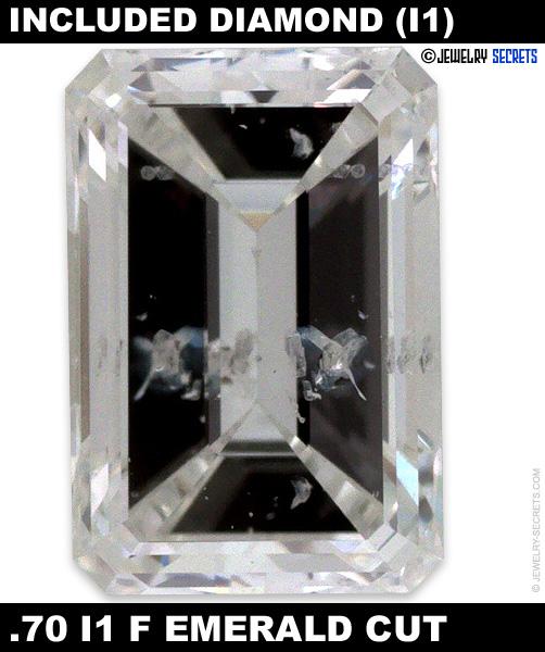 .70 I1 F Emerald Cut Diamond