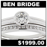 Ben Bridge Jewelers Diamond Wedding Set!