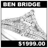 Ben Bridge 1/2 Carat Diamond Wedding Set!