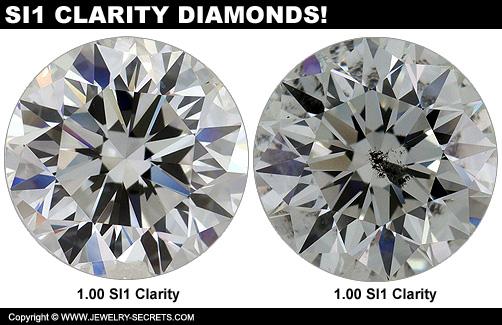 Compare SI1 Clarity Diamonds!