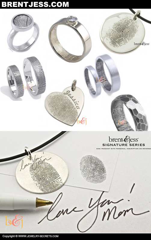 Fingerprint Jewelry Items!