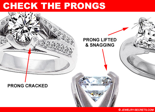 Check the Diamond's Prongs