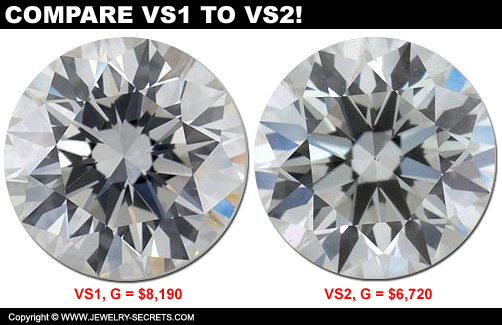 VS1 and VS2 Diamond Price!