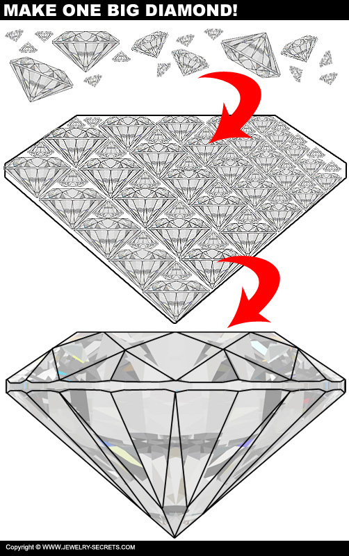 Crush Diamonds into one BIG Diamond!