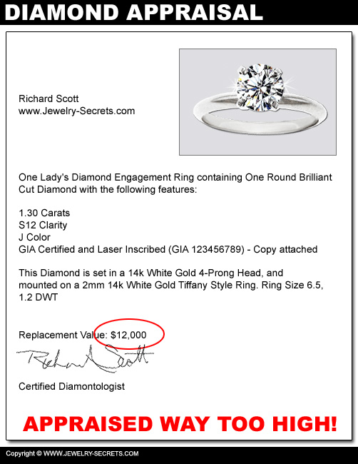 Diamond with High Retail Price!