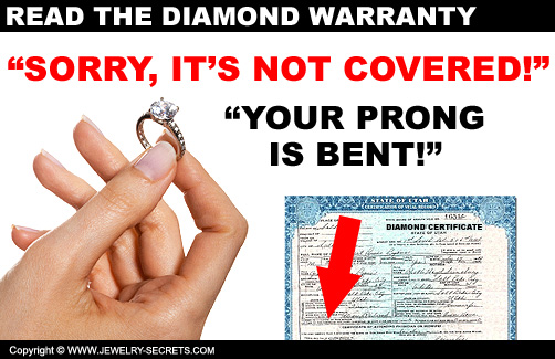 Diamond Warranty is Void!