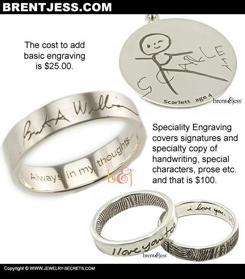Engraving on Fingerprint Jewelry!
