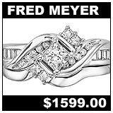Fred Meyer Jewelers 5/8 Carat Diamond Wedding Set!