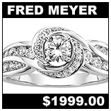 Fred Meyer 1 CT Diamond Ring!