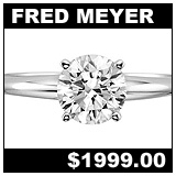 Fred Meyer Jewelers 1 Carat Diamond Solitaire Ring!