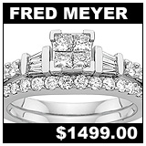 Fred Meyer 1 Carat Diamond Wedding Set!