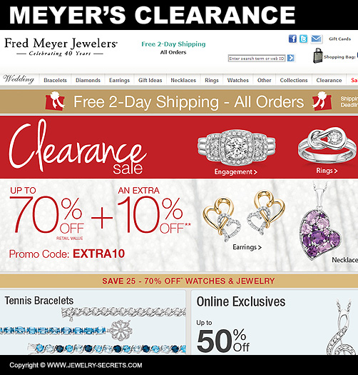 fred meyer jewelry coupons january inventory clearance jewelry secrets 464