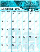 Free December 2013 Calendar!