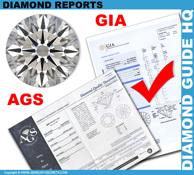 GIA and AGS Diamond Reports!