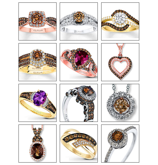 Great Chocolate Diamond Jewelry