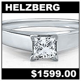 Helzberg Jewelers 038 Carat Diamond Solitaire Ring!