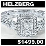 Helzberg 1/2 Carat Diamond Engagement Ring!