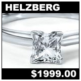 Helzberg Jewelers 075 Carat Diamond Solitaire Ring!