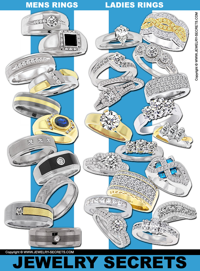 How Can You Tell A Mans Ring From A Ladies Ring