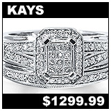 Kay Jewelers 3/8 Carat Diamond Wedding Set!