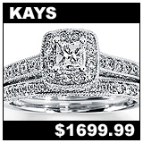 Kay Jewelers 1/2 Carat Diamond Bridal Set!