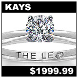 Kay Jewelers 1/2 Carat Diamond Solitaire Ring!