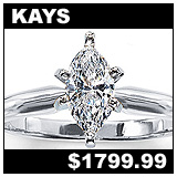 Kay Jewelers 5/8 Carat Diamond Solitaire!