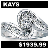 Kay Jewelers 3/4 Carat Diamond Engagement Ring!