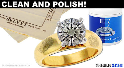 Keep Your Jewelry Cleaned And Polished!