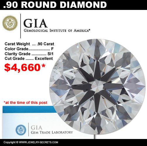 .90 Carat Loose Certified Diamond Sale!
