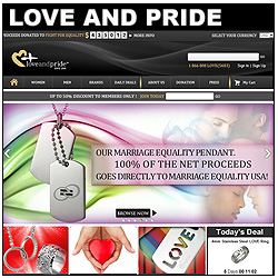 Love And Pride Jewelry Website!