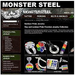 Monster Steel Jewelry Website!