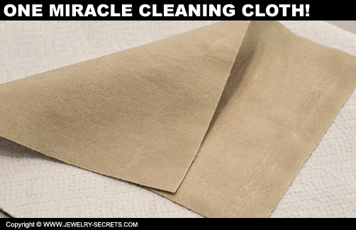 how to use a jewelry cloth