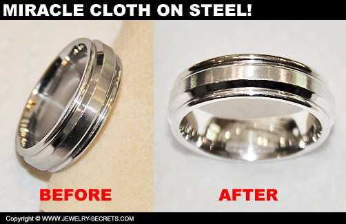 Miracle Cloth on Rings!