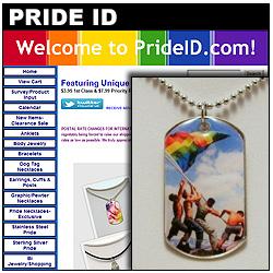 Pride ID Jewelry Website!