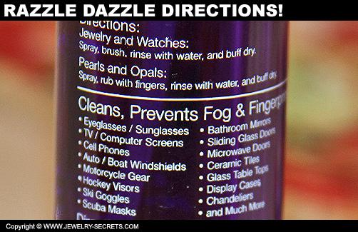 Razzle Dazzle Directions!