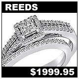 Reeds 3/4 Carat Diamond Wedding Set!