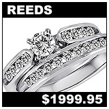 Reeds 1 Carat Diamond Wedding Set!