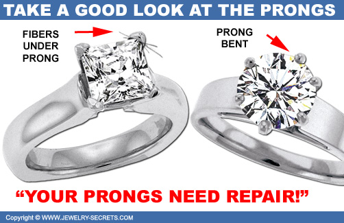 Ring Prongs Need Repair!