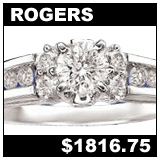 Rogers and Holland 3/4 Carat Diamond Engagement Ring!