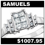 Samuel Jewelers 1/2 Carat Diamond Engagement Ring!