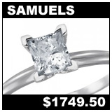 Samuel Jewelers 1 Carat Diamond Solitaire Ring!